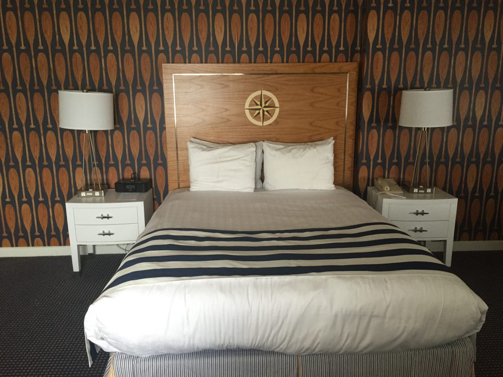 waterfront Hotel Room